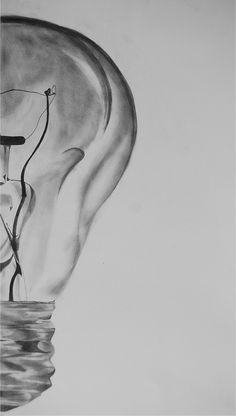 AP Studio Art Concentration: Incandescent Light Bulbs by Natalie Cowan, via Behance