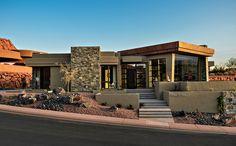Contemporary Exterior Design in St. George, Utah, United States
