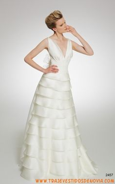 2457  Vestido de Novia  Patricia Avendao