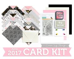 Blissful: June 2017 Card Kit Reveal and Inspiration!