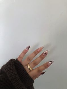 Edgy Nails, Funky Nails, Neutral Nails, Dope Nails, Stylish Nails, Acrylic Nails Coffin Short, Simple Acrylic Nails, Best Acrylic Nails, Simple Nails
