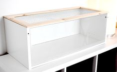 This is what I'm building for my new hamster! You will need IKEA- Billy height extension Ivra shelf for lid Billy extra shelf Any extra shelves for extra levels (baby shelves projects) Hamster Diy Cage, Hamster Life, Hamster Habitat, Hamster Stuff, Pet Stuff, Diy Hamster House, Pet Cage, Syrian Hamster Cages, Chinchillas