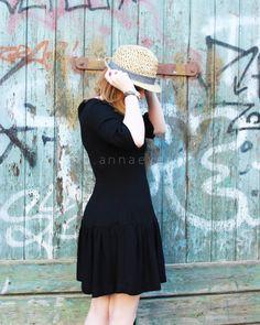 DIY Vestido con cintura caida