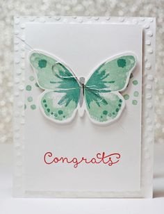 Stampin Up Watercolour Wings