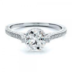 Custom Diamond Engagement Ring | Joseph Jewelry | Bellevue | Seattle | Online | Design Your Own Ring
