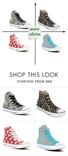 """""""converse collection"""" by maya-03-b on Polyvore featuring Converse and Post-It"""