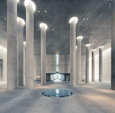 tr-ce:  Shultes Frank Architeckten | Crematorium Baumschulenweg || Mattias Hamren photography
