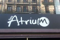 Sala ATRIUM, Calle Consell de Cent, Barcelona.
