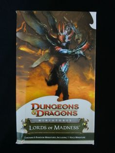 Lords of Madness Sealed Booster Pack - WOTC - D20 - Dungeons & Dragons Figures