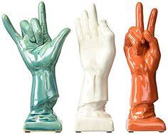 IMAX 69265-3 Cohen Ceramic Hands Sculpture, Set of 3, http://www.amazon.com/dp/B008Z76H9I/ref=cm_sw_r_pi_awdm_x_3hIXxbKEDFGMW