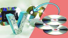 3 Ideas Decora tu cuarto con CDs (Reciclaje) Ecobrisa