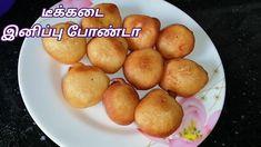 Sweet bonda recipe in tamil | Tea kadai sweet bonda | Evening snacks | ட... Recipes In Tamil, Cooking For Beginners, Evening Snacks, Pretzel Bites, Bread, Vegetables, Sweet, Easy, Food