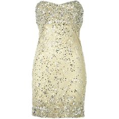Alice + Olivia Larken Sequin Mini Sweetheart Dress ($297) ❤ liked on Polyvore featuring dresses, vestidos, short dresses, cocktail dresses, beige dress, beaded dress, short sequin dress, short beaded dress and silk dress