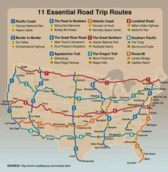 RV Road Trips through the US