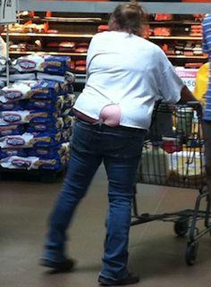 Sheer Black Pants at Walmart   Funny People of Walmart ...