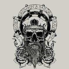 """""""No Roses Grow On A Sailors Grave"""" T Shirt By JailbreakArts Design By Humans"""