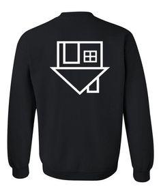 neighbourhoodl ogo band sweatshirt back