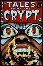 Tales from the Crypt Scary Comics, Ec Comics, Horror Comics, Horror Art, Vintage Comic Books, Vintage Comics, Crane, Color Paints, Horror Themes