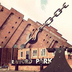 We love our city. #Manchester #traffordpark #businesstrip #manchesterunited #digitalmarketing