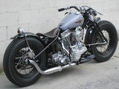 Nice Harley Panhead bobber. #harleydavidsonsoftailbobber #harleydavidsonchopperscustombobber