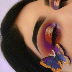 Gorgeous purple & copper