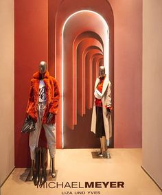 """MICHAEL MEYER, Huestrasse, Bochum, Germany, """"I was never the girl who walked down the centre of the hallway snapping people out of her way"""", photo by Form Factory, pinned by Ton van der Veer Michael Meyer, Mannequin Display, Display Window, The Girl Who, Visual Merchandising, Mannequins, Centre, Germany, Photos"""