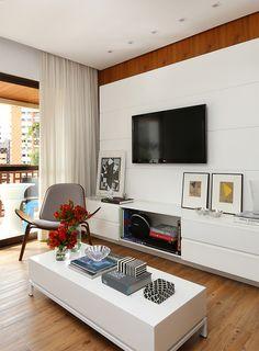 Living : Salones modernos de Casa 2 Arquitetos