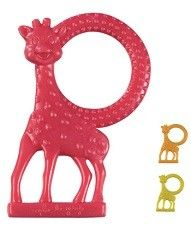 Sophie the Giraffe Vanilla Teether.  Add to your Sophie collection with this vanilla flavored Sophie teether.  Approx 4 1/2 inches tall.
