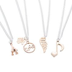 MJARTORIA 2 Tone Charm Pendant BFF Friendship Necklaces Set for Best Friends Sisters Mother and Daughter MJartoria http://www.amazon.com/dp/B0158OJSEQ/ref=cm_sw_r_pi_dp_imJ9vb052825B