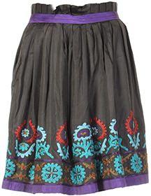 Antik Batik Jupe VERT MULTICOLORE Jupe courte sur shopstyle.fr