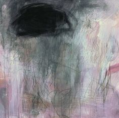 "NEW on ARTchipel  Cristina B (Switzerland) - Tears for you. Large original acrylic and pencil painting on canvas, 31"" x 31"", original available here >  [more Cristina B 