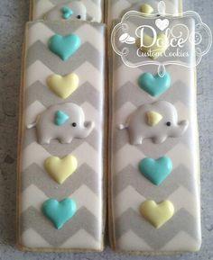 Dolce: Elephant cookie sticks. Too cute!