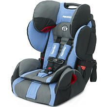 Recaro ProSport Harness to Booster Car Seat - Blue Opal