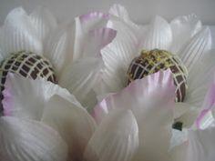 Forminhas para doces finosObra de Arte: Forminha flor de lotus,com muito estilo!!!