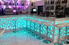 Extremly Decorative Wall Designs from Decodesk Nightclub Design, Nightclub Bar, Interior Design Your Home, Restaurant Interior Design, Bar Counter Design, Wall Design, House Design, Night Bar, Champagne Bar