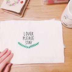 Instagram @nangmanjasu  #nothingbutthieves #loverpleasestay  #자수 #손자수 #낭만자수 #프랑스자수 #춘천자수 #embroidery #handembroidery #broderie #bordado #ricamo #Stickerei #刺绣 #刺繡