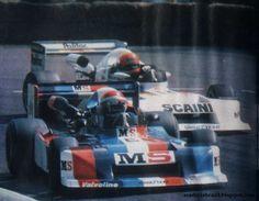 (6) Eddie Cheever - March 782 BMW - Project Four Racing - (8) Bruno Giacomelli - March 782 BMW/Rosche - March Racing Ltd - XXXVIII Grand Prix Automobile de Pau - 1978 European F2 Championship, Round 4