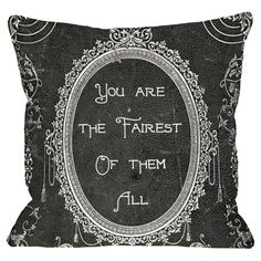 Throw pillow with a fairy tale-inspired motif. Made in the USA.  Product: PillowConstruction Material: Woven pol...