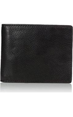 Fossil Men's Pax Rfid Blocking Leather Large Coin Pocket Bifold Wallet, Black, One Size ❤ Fossil Men's Accessories