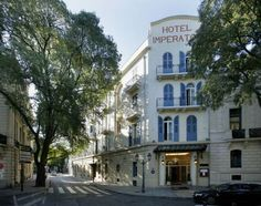 Imperator Nîmes Hotel Imperator is located in central Nimes, facing the Jardins de la Fontaine and 250 metres from Maison Carrée.  Set in an Art Deco-style building, it offers a 24-hour front desk and free WiFi access.