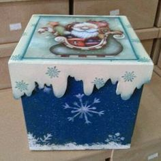 Eliane Artesanato: caixas de panetones