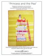 Princess and the Pea, using Windham fabrics Darling quilt.  Download project