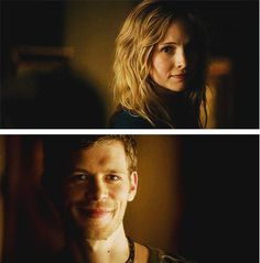 Friends then?  (Klaus and Caroline ~ American Gothic)