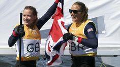 Rio 2016 Olympics: Great Britain's Hannah Mills and Saskia Clark finally win 470 sailing gold - Rio 2016 - Sailing - Eurosport