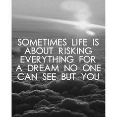 Sometimes the only person who can see the vision is you... #entrepreneurlife #thevision #suncrest #digitalmarketing