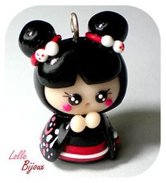 Fimo Lolle Bijoux- Oh My Gosh, This is the most adorable thing ever!! I love her!!!
