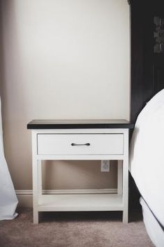 Our New Farmhouse Bedside Tables - DIY