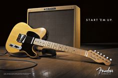 The almighty blond telecaster