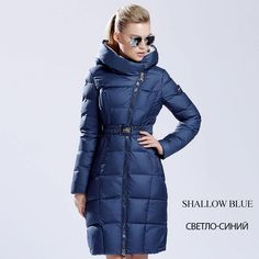 Women's winter down jackets and coats women High Quality Warm Female thickening Warm Parka Hood Over Coat - FREE SHIPPING