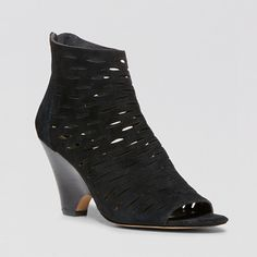 Rank & Style Top Ten Lists | Steven by Steve Madden Cammii Wedge Booties #rankandstyle #topten #booties #boots #sandals #heels #shoes #black #fashion #style #stevemadden